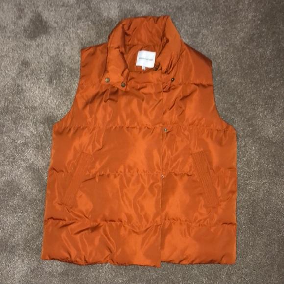 Gibson Latimer Jackets & Blazers - (Gibson Latimer) orange puffy vest NWOT